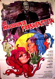 Les rites érotiques de frankenstein